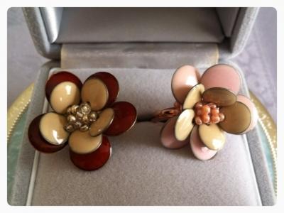 ビーズリング花-2