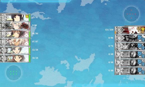 2014夏イベE-6道中2