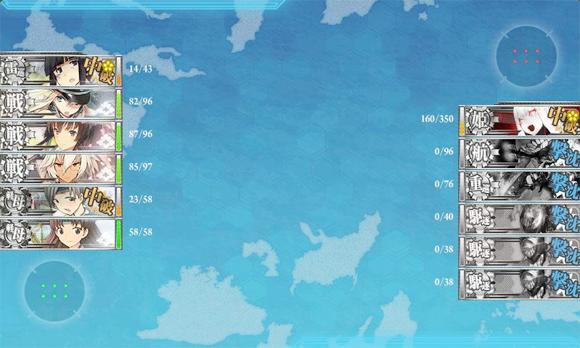 2014夏イベE-6道中3