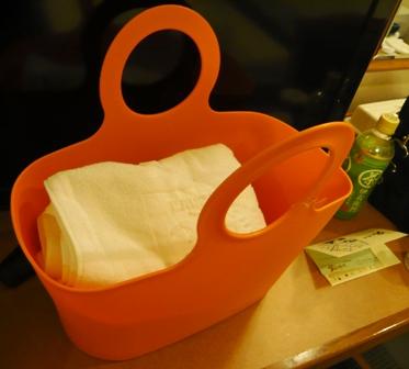 4月2日:ホテルミヤヒラ・お風呂用バッグ