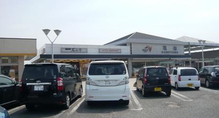 亀山SA下り外観