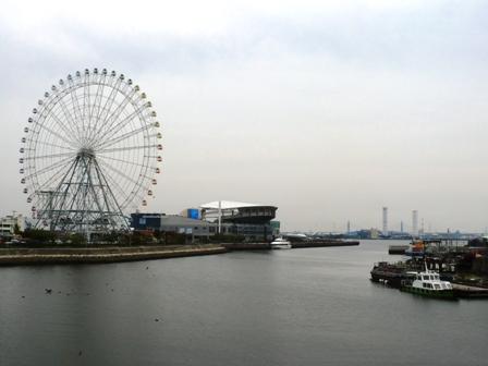 名古屋港の観覧車