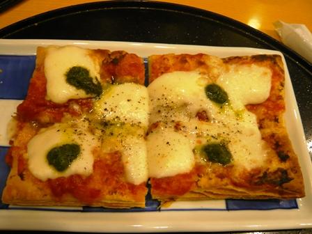 洋麺屋五右衛門名古屋競馬場前店:パイピザ
