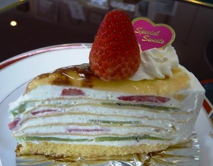 シャンドゥピエール:ショートケーキ