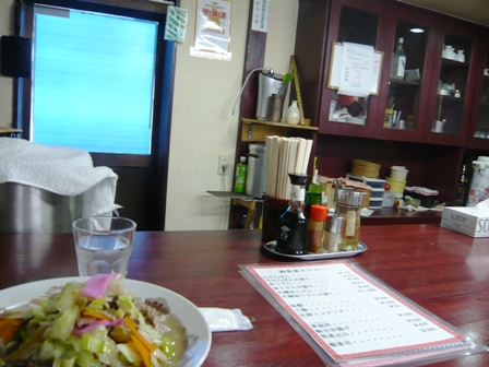 ちゃんぽん屋:店内