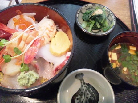 かわせみ:海鮮丼