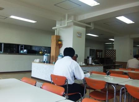 合庁2F食堂:店内
