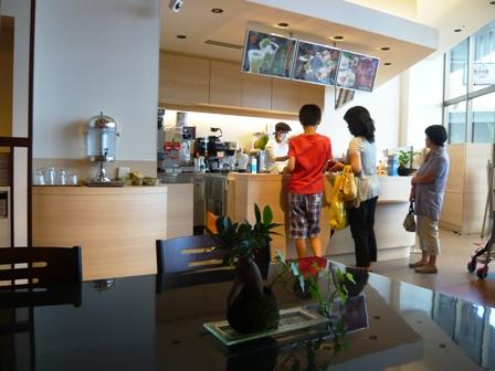 Mannendo Cafe:店内1