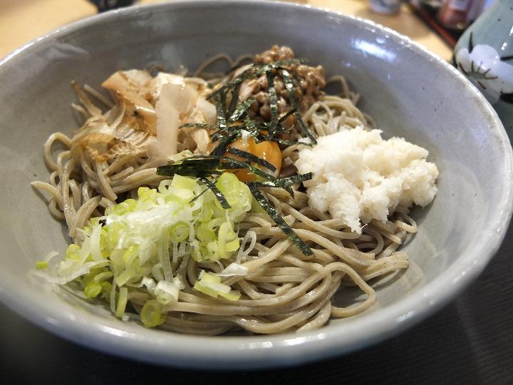 山田村、蕎麦