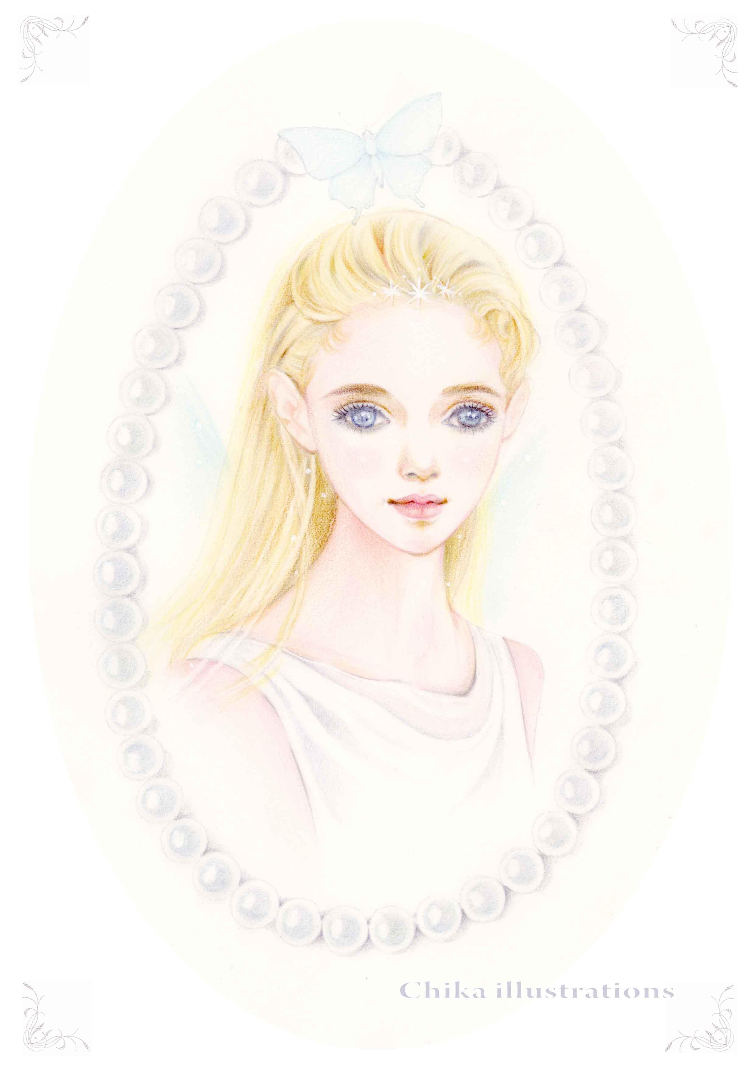 妖精の肖像画 ブログ用