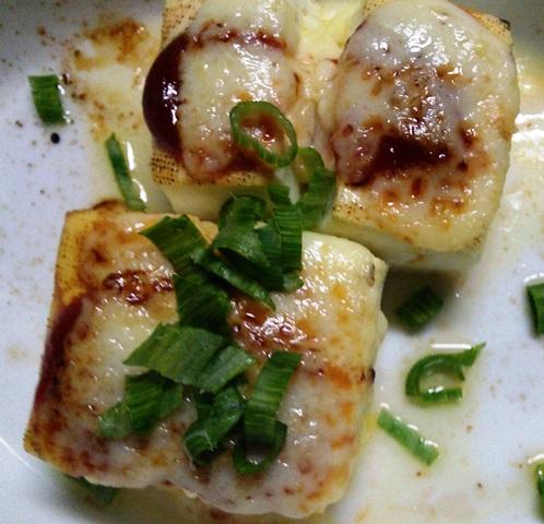 豆腐のチーズ焼