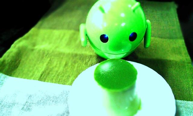 宇宙人に狙われた抹茶プリン