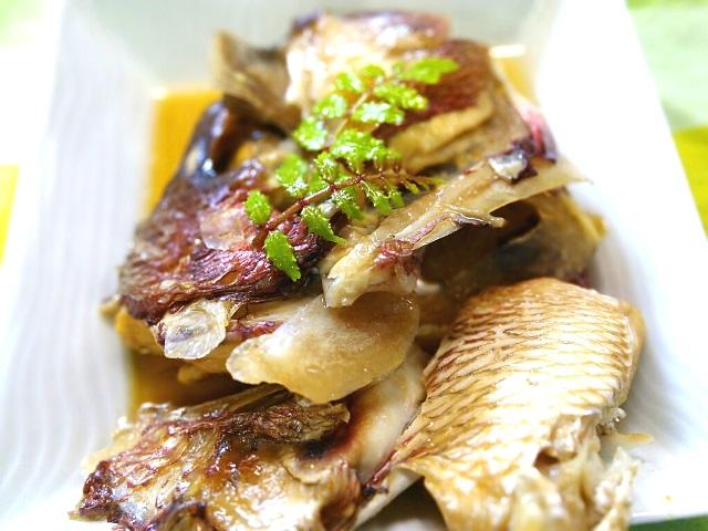 鯛のあら煮