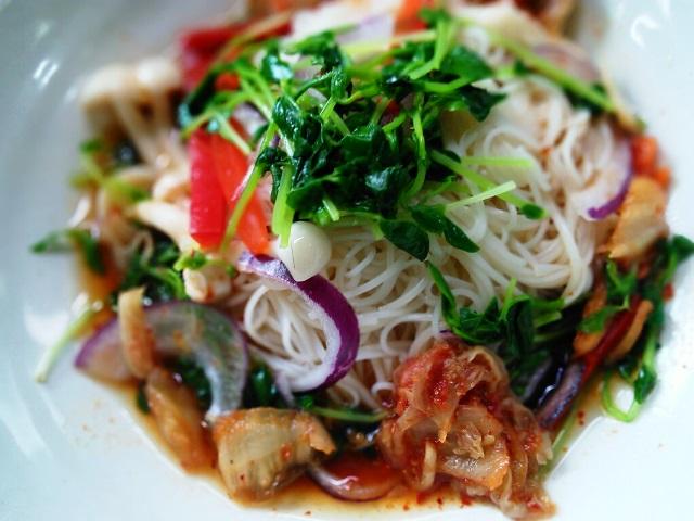 無国籍素麺キムチ