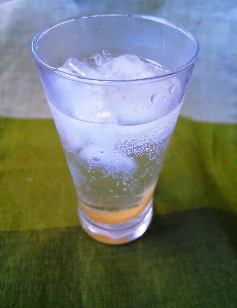 塩レモンソーダー