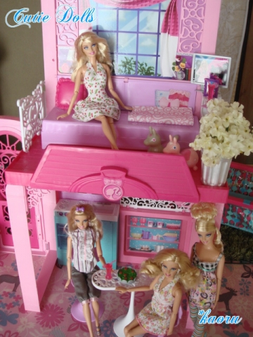m barbie glam vacation house 2013-6