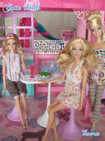 m barbie glam vacation house 2013-3