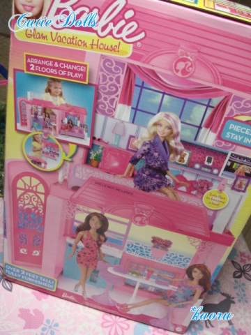 m barbie glam vacation house 2013-2