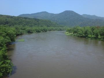 11濁流の天塩川