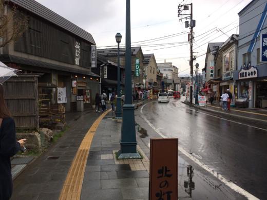 小樽の歴史ある町並み