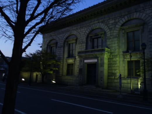 夜のウォール街