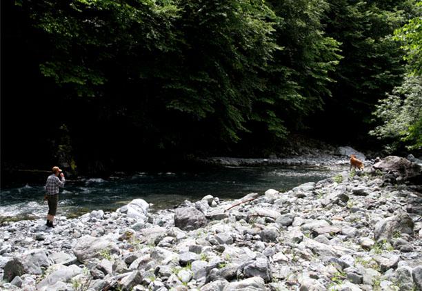 河原で捜索 0719(5)