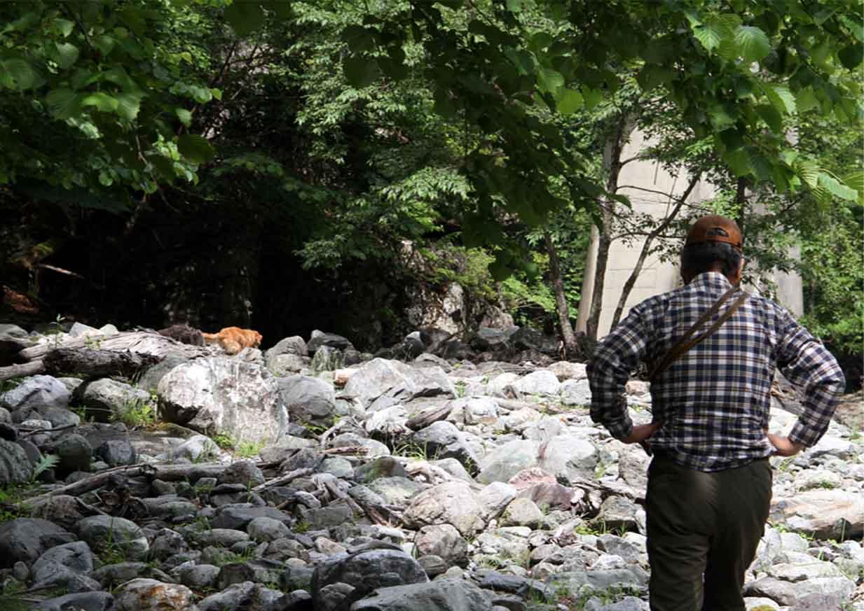 河原で捜索 0719(10)