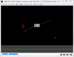 斜めクリッピングを使ったテキストモーション005-2