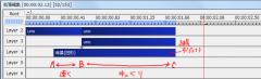 斜めクリッピングを使ったテキストモーション011-2