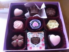 連れ合いからのチョコレート2