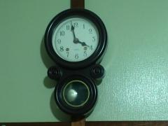 書斎の時計。