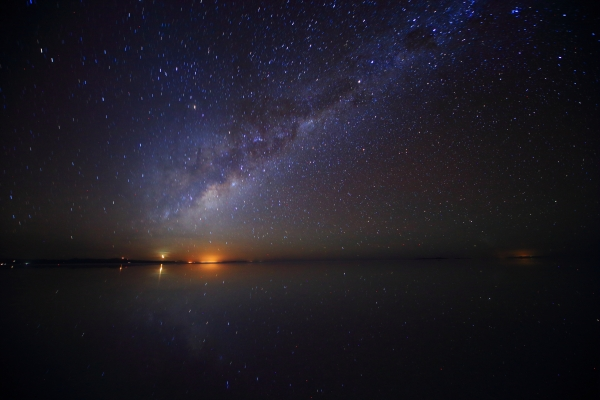 信じられないほど満天の星空!