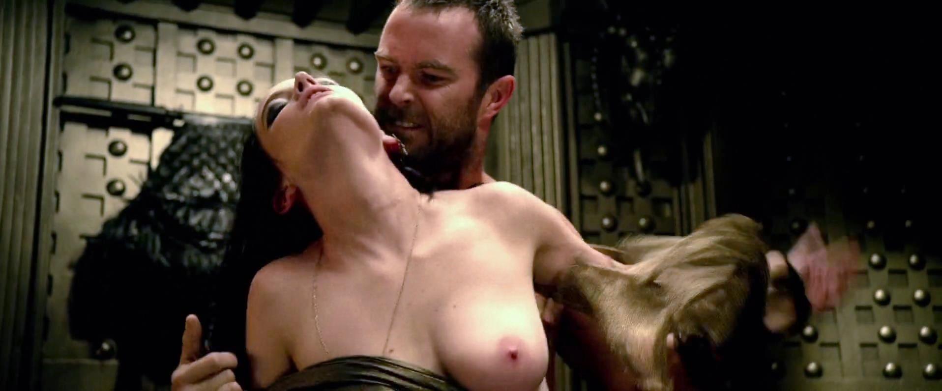 Видео постельная ева сцена грин секс спартанцев 300