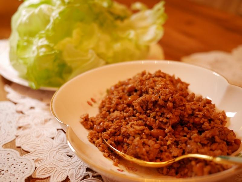 納豆ひき肉