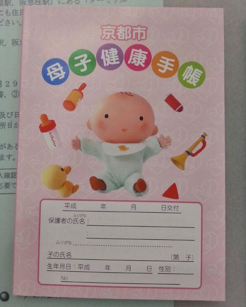 母子手帳 (2)