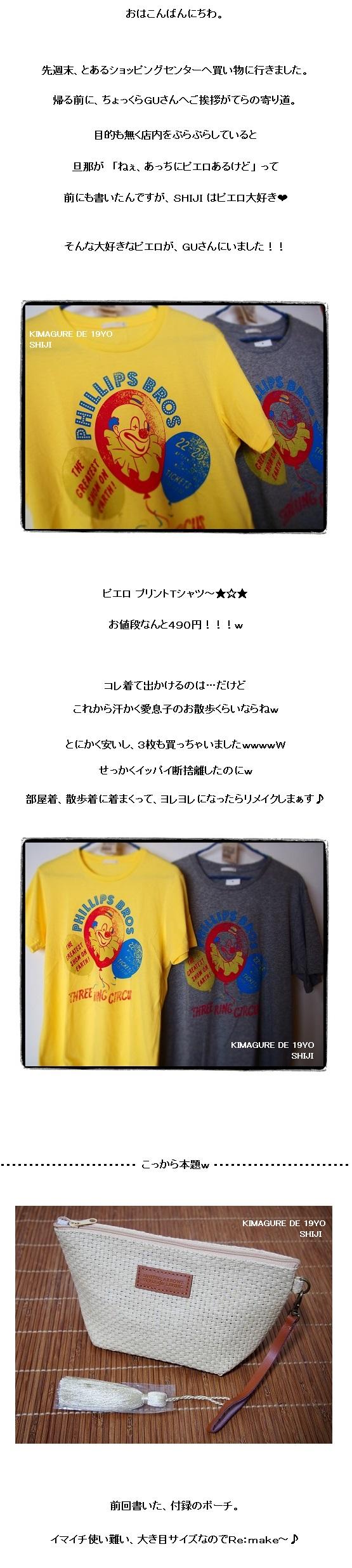 ラフィア風ポーチ3
