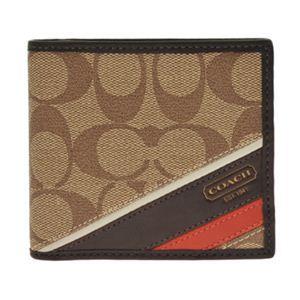 COACH(コーチ) 74216 KH MA 二つ折り財布(小銭入れ付)1