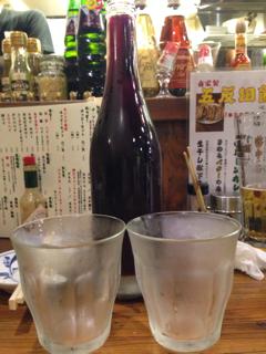 樽生赤ワインデキャンタ