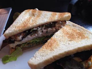 海老のサンドイッチ断面