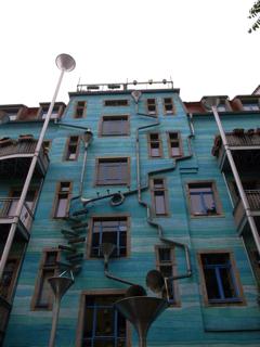 新市街で見つけた建物