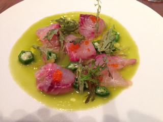 前菜(鮮魚のマリネ)