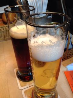 ビール(飲みかけ)