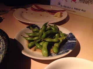 枝豆のガーリックナンプラー炒め