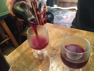樽生赤ワイン