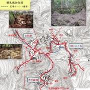 勝尾城地図