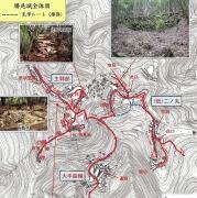 勝尾城地図2