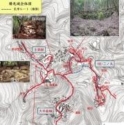 勝尾城地図3