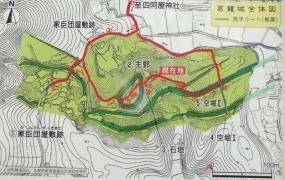 葛籠城地図