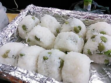 makiさん枝豆ごはん