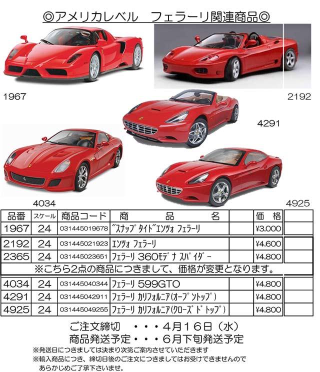 米レベルフェラーリ-1